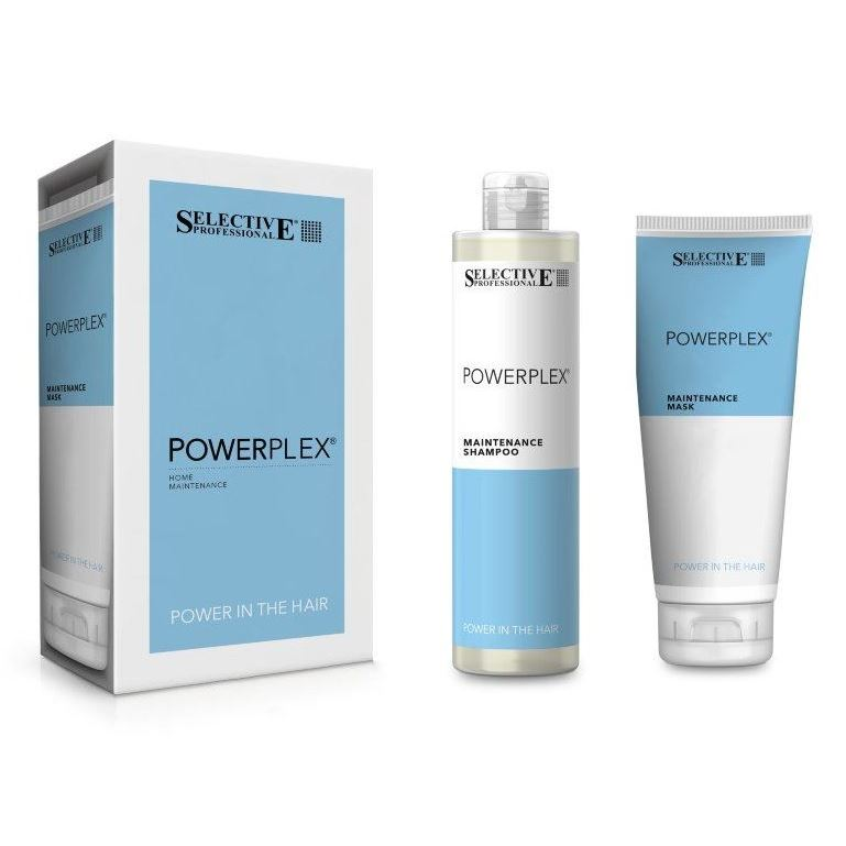 Набор: Маска Selective Professional Powerplex Set набор selective professional golden power shampoo