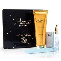 Набор Aqua Mineral Professional Nail Kit Gold Charm (буфер и пилка ) набор пилка premier beautifying nail mini kit набор молоко и мёд
