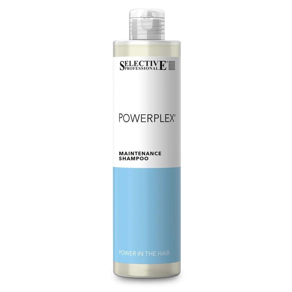 Шампунь Selective Professional Powerplex Shampoo 1000 мл selective professional power shampoo серебряный шампунь для седых волос 250 мл