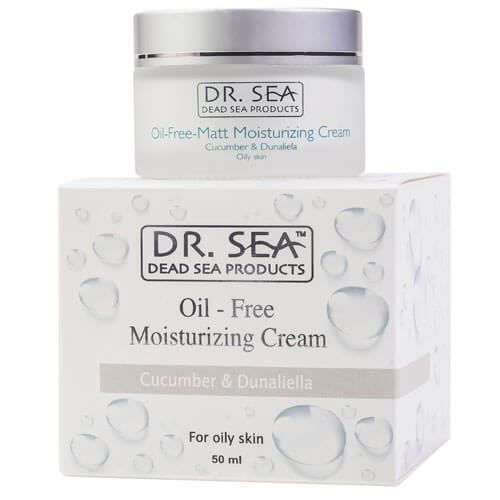 Крем Dr. Sea Oil-Free Moisturizing Cream Cucumber & Dunaliella 50 мл cnd крем cucumber heel therapy 425 гр