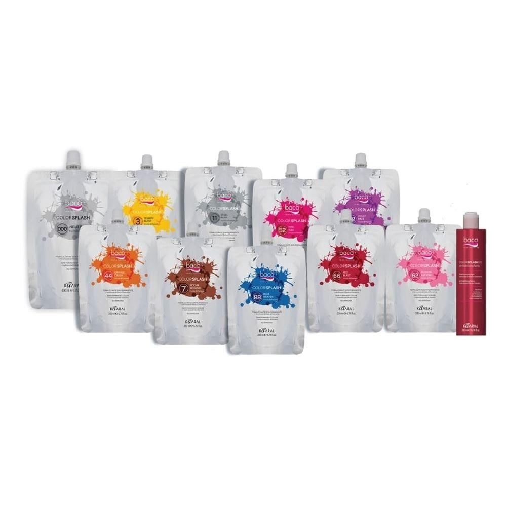 Краска для волос Kaaral Baco Colorplash Vivids - Pastels kaaral стойкий безаммиачный краситель 8 светлый блондин kaaral baco soft ammonia free af8 60 мл