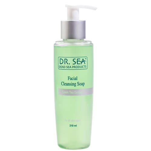 Мыло Dr. Sea Facial Cleansing Soap Grean Tea Extract 210 мл