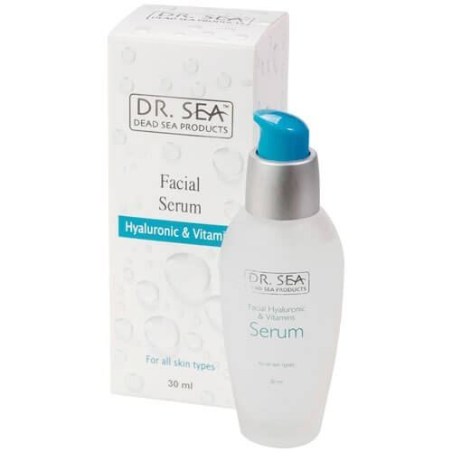 Сыворотка Dr. Sea Facial Serum Hyaluronic & Vitamins 30 мл