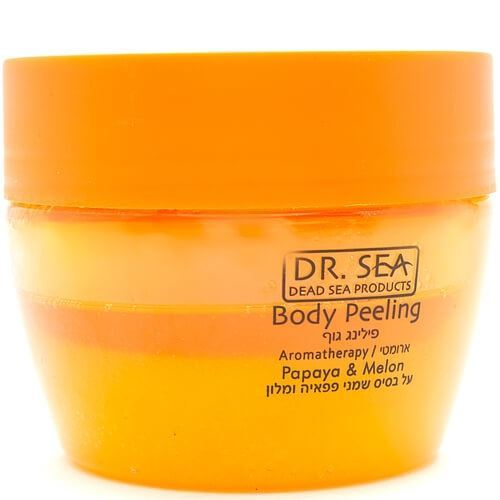 Пилинг Dr. Sea Body Peeling Aromatherapy Papaya & Melon 320 мл