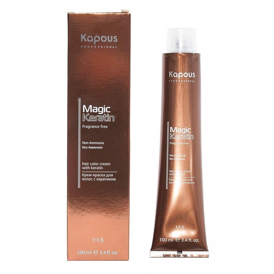 Краска для волос Kapous Professional Hair Color Cream With Keratin Non Ammonia (NA 912 ультра-светлый бежевый блонд) kapous professional экспресс маска 2 ампулы по 12 мл magic kerartin –