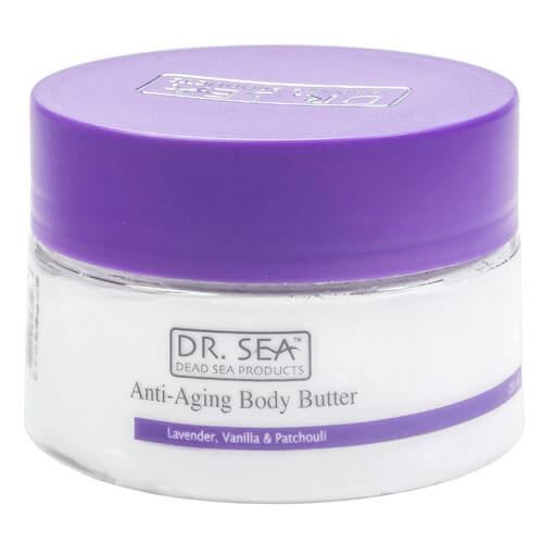 Масло Dr. Sea Anti-Aging Body Butter Lavander, Vanilla & Patchouli 250 мл dr sonali ruder cooking well anti aging