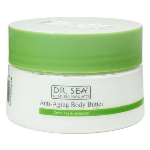 Масло Dr. Sea Anti-Aging Body Butter Green Tea & Geranium 250 мл dr sonali ruder cooking well anti aging