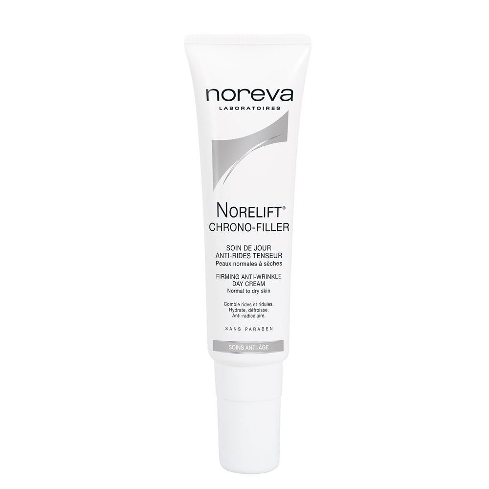 Крем Noreva Norelift Chrono-Filler Firming Anti-Wrinkle Day Cream Normal to Dry Skin  30 мл christina дневной крем абсолютная защита spf 20 bio phyto ultimate defense day cream 75 мл дневной крем абсолютная защита spf 20 bio phyto ultimate defense day cream 75 мл 75 мл