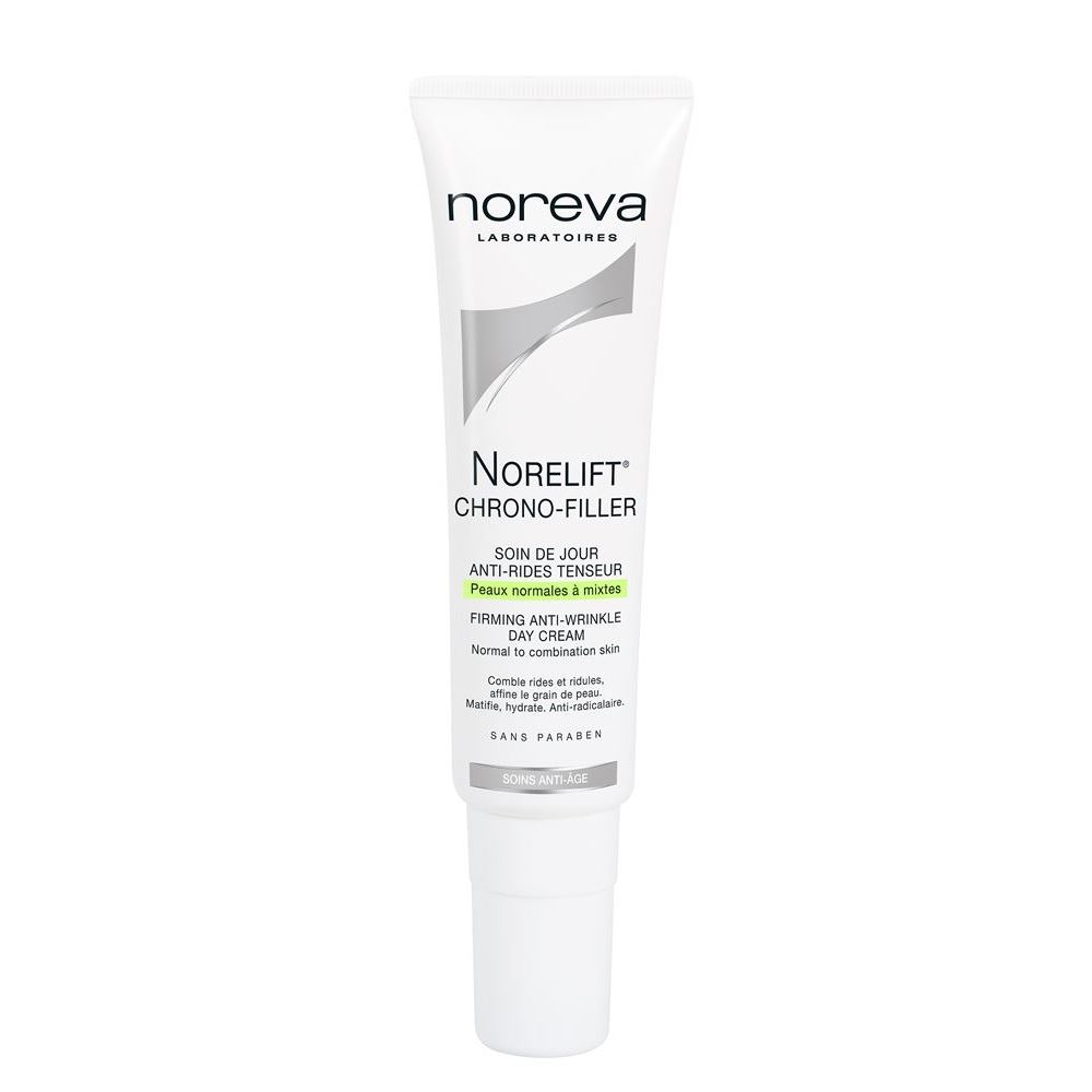 Крем Noreva Norelift Chrono-Filler Firming Anti-Wrinkle Day Cream Notmal to Combination Skin 30 мл недорго, оригинальная цена