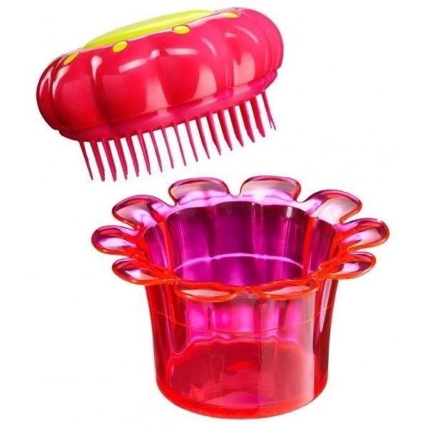 Расческа Tangle Teezer Magic Flowerpot Princess Pink (1 шт) tangle teezer расческа для волос salon elite yellow