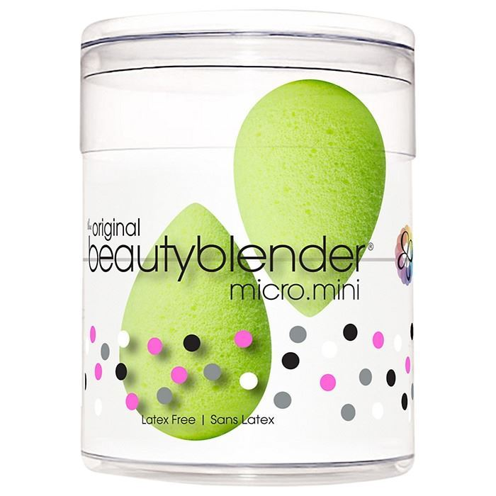 Набор: Спонж Beauty Blender Micro.Mini (Набор: 2 мини-спонжа) косметику для скульптурирования лица