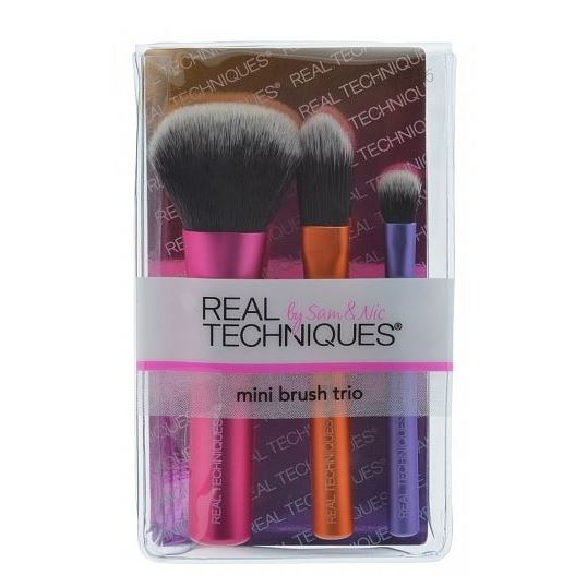 Набор Real Techniques Mini Brush Trio (Набор)