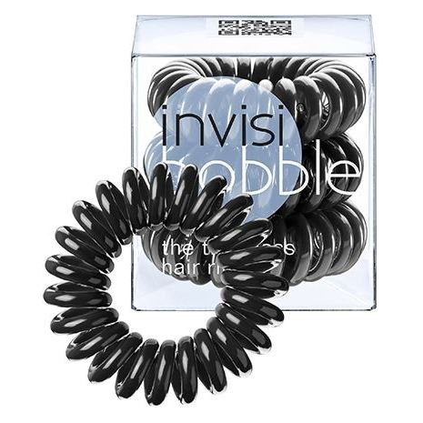 Сопутствующие товары Invisibobble True Black (3 шт) invisibobble power true black резинка браслет для волос power true black резинка браслет для волос