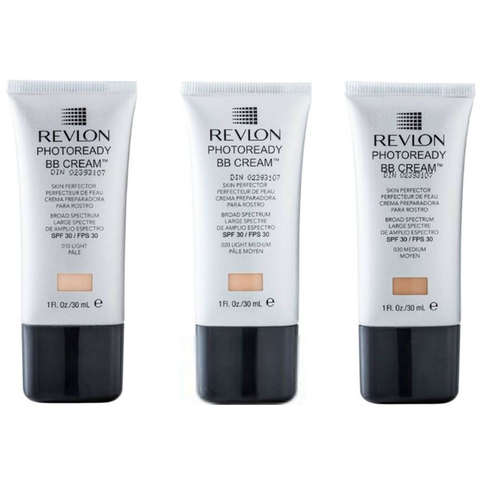Тональный крем Revlon Photoready BB-cream Skin Perfector (030) bb кремы revlon вв крем photoready bb cream light medium 010