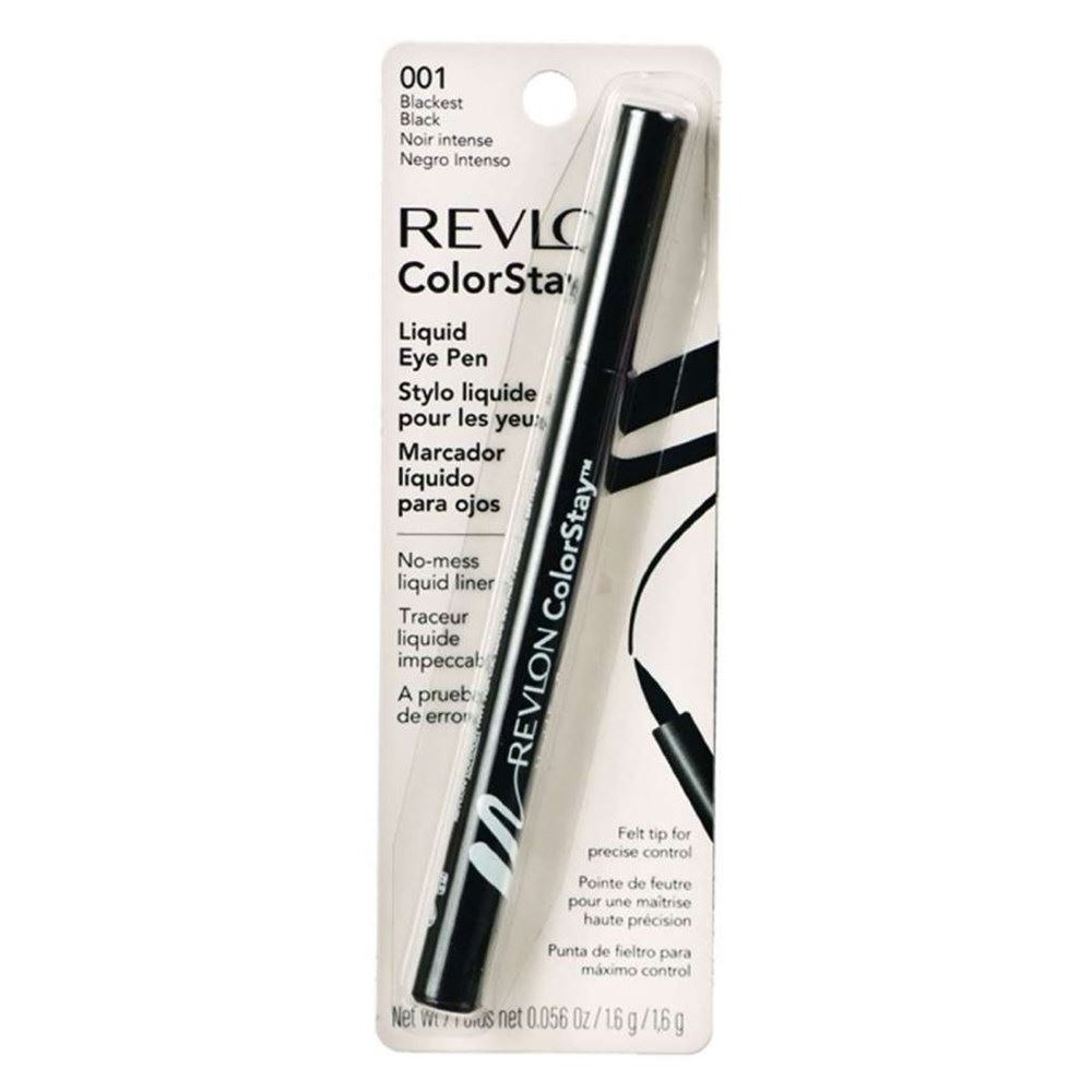 Карандаши Revlon Colorstay Liquid Eye Pen (003) подводка фломастер для глаз revlon colorstay liquid eye pen blackest black 003