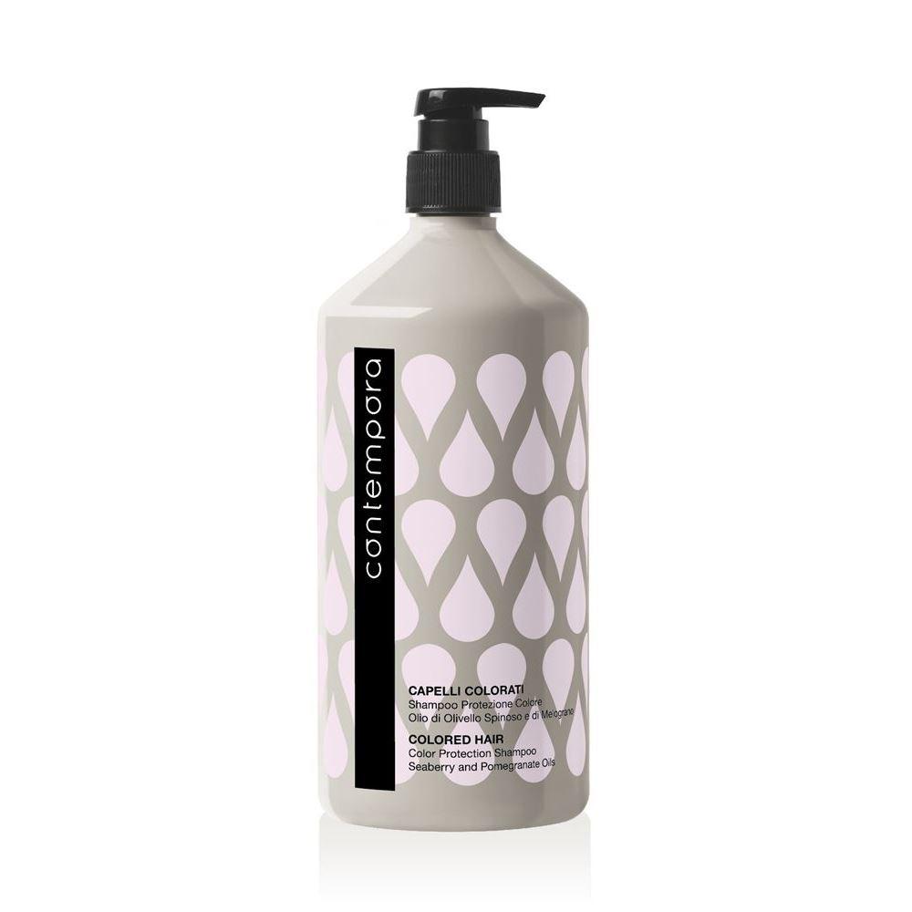 Шампунь Barex Colored Hair Color Protection Shampoo 1000 мл alfaparf precious nature shampoo dry and thirsty hair шампунь для сухих волос испытывающих жажду 1000 мл