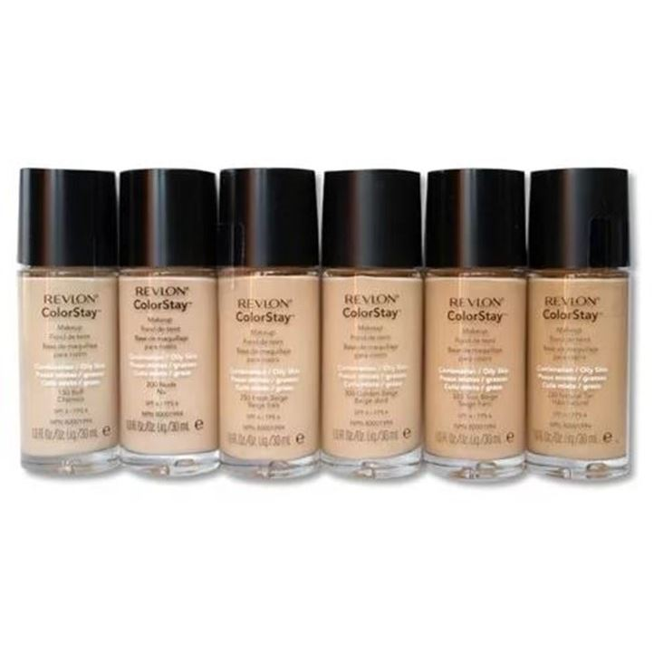 Тональный крем Revlon Colorstay Makeup For Combination-Oily Skin (320) annemarie borlind омолаживающий тональный крем орех annemarie borlind makeup hazel 03 w 153903 30 мл
