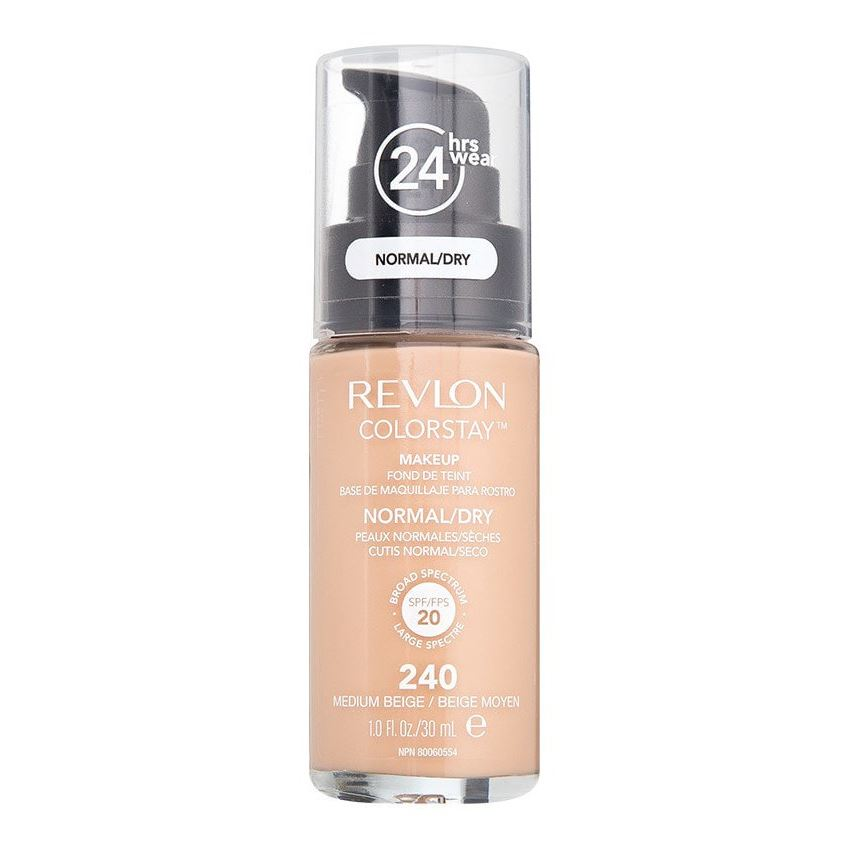 Тональный крем Revlon Colorstay Makeup For Normal-Dry Skin (220) тональная основа revlon colorstay makeup for normal dry skin 150 цвет 150 buff variant hex name ecbfa0