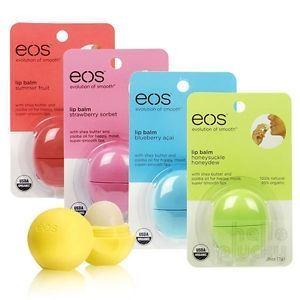 Бальзам Eos Lip Balm (на картонной подложке) (Vanilla Mint) набор бальзам eos limited edition lip balm 3 pack visibly soft набор 3 шт