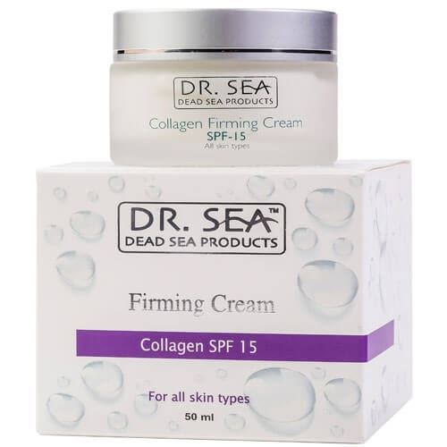 Крем Dr. Sea Collagen Firming Cream SPF 15 50 мл
