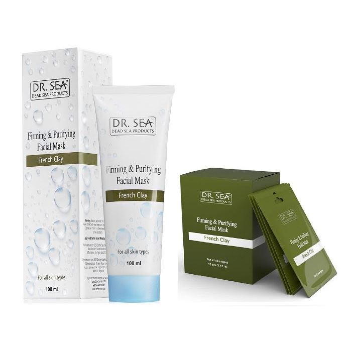 Маска Dr. Sea Firming & Purifying Facial Mask French Clay 100 мл