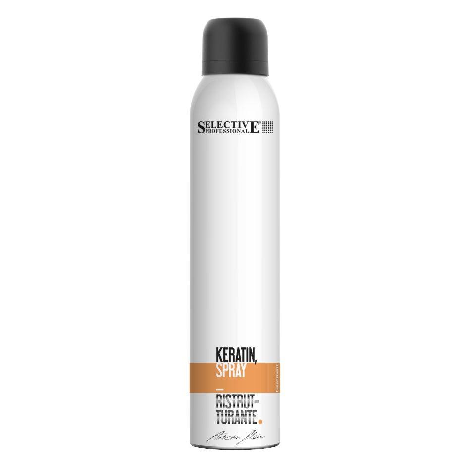 Спрей Selective Professional Keratin Spray selective professional спрей для выравнивания кутикулы перед химической обработкой equalizer spray on care tech 250мл