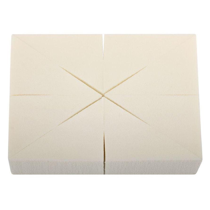 Спонж Limoni Спонж треугольный в блоке (8 шт) спонжи taiyan набор спонжей для лица тм taiyan sk шелк 2 шт