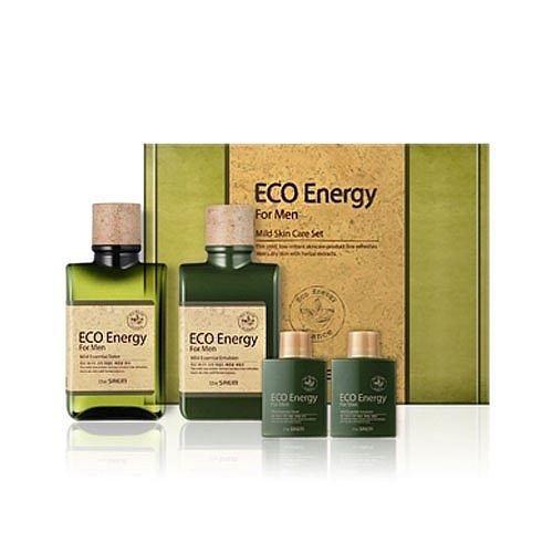 Набор The Saem Eco Energy Mild Skin Care 2 Set (Набор: тоник, 2*150 мл + эмульсия, 2*30 мл) набор для выращивания eco победитель 1021368