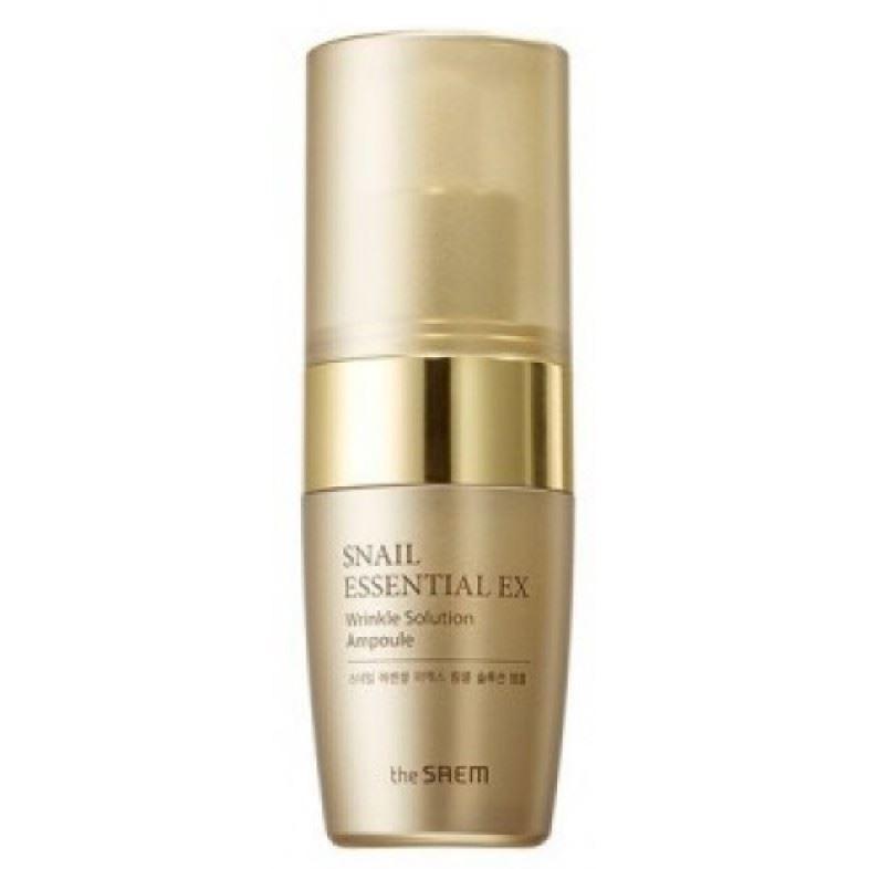 Сыворотка The Saem Snail Essential EX Wrinkle Solution Ampoule крем the saem snail essential ex wrinkle solution eye cream