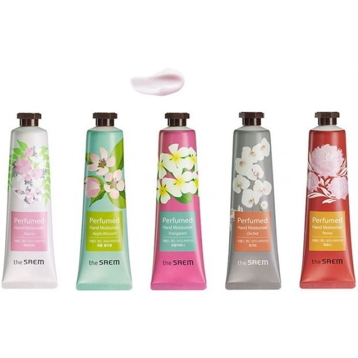 Крем The Saem Perfumed Hand Moisturizer (Frangipani ) крем the saem chocopie hand cream marshmallow 3 35 мл