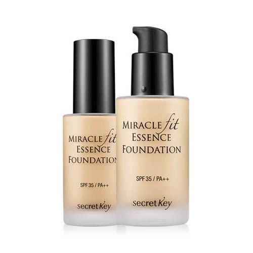 пудра berrisom essence founpact spf50 pa 23 База под макияж Secret Key Miracle Fit Essence Foundation SPF35 PA++ (23 )