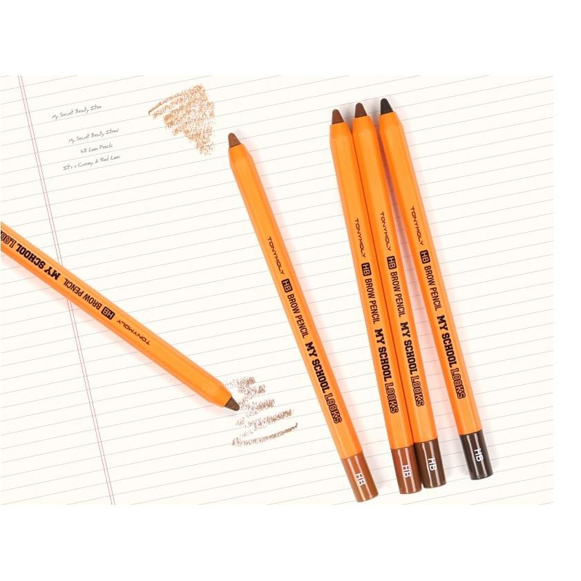 Карандаши Tony Moly My School Looks HB Brow Pencil (01 ) карандаши tony moly my school looks multi color pencil 06