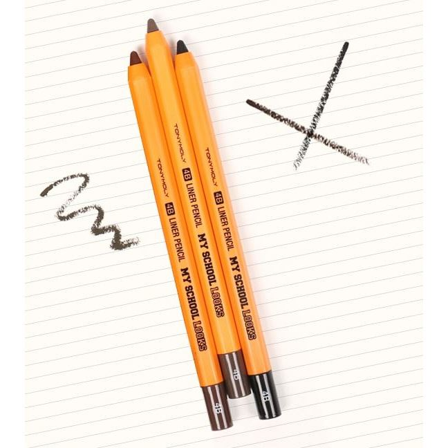 Карандаши Tony Moly My School Looks 4B Liner Pencil (01 ) карандаши tony moly my school looks multi color pencil 06