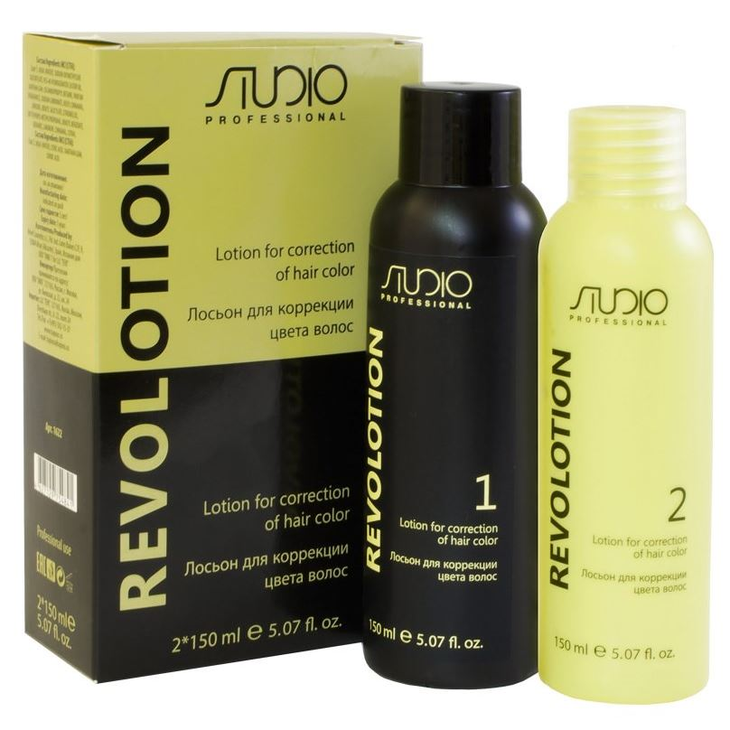 Краска для волос Kapous Professional Lotion for Connection of Hair Color Revoltion (150 мл + 150 мл)