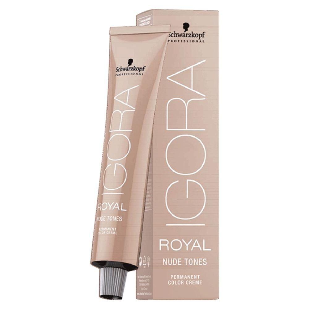 Краска для волос Schwarzkopf Professional Igora Royal Nude Tones  (7-46 ) краска для волос schwarzkopf professional igora royal nude tones collection оттенок 6 46 60 мл