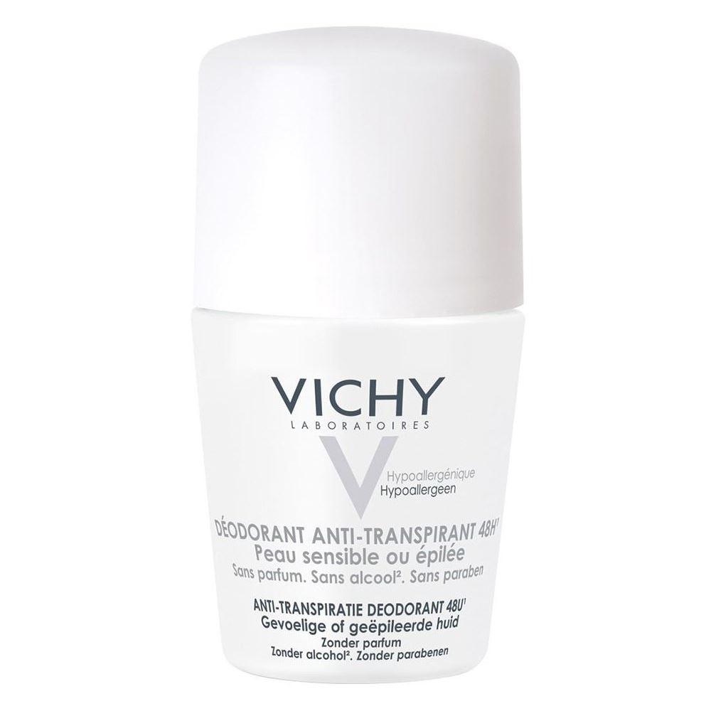 Дезодорант VICHY Дезодорант-шарик 48 ч. для чувствительной кожи 50 мл дезодорант ролл 48 часов для женщин lavilin 65 мл hlavin