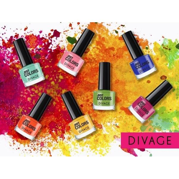 Лак для ногтей Divage Just Colors Nail Polish (40) лаки для ногтей isadora лак для ногтейwonder nail 643 6мл