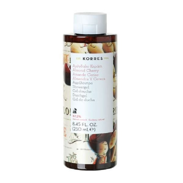 Гель для душа Korres Shower Gel Almond & Cherry  250 мл гель для душа korres shower gel almond