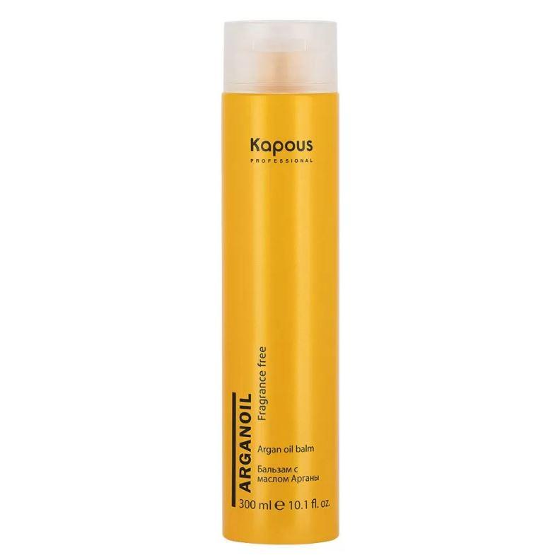 Бальзам Kapous Professional Бальзам для волос с маслом арганы 200 мл народные промыслы золотой шелк бальзам с репейным маслом контроль над потерей волос 170 мл 170 мл