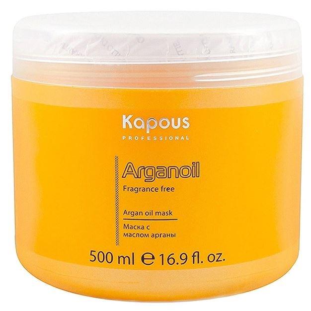 Маска Kapous Professional Argan Oil Mask 500 мл kativa argan oil conditioner кондиционер для волос увлажняющий с маслом арганы 500 мл