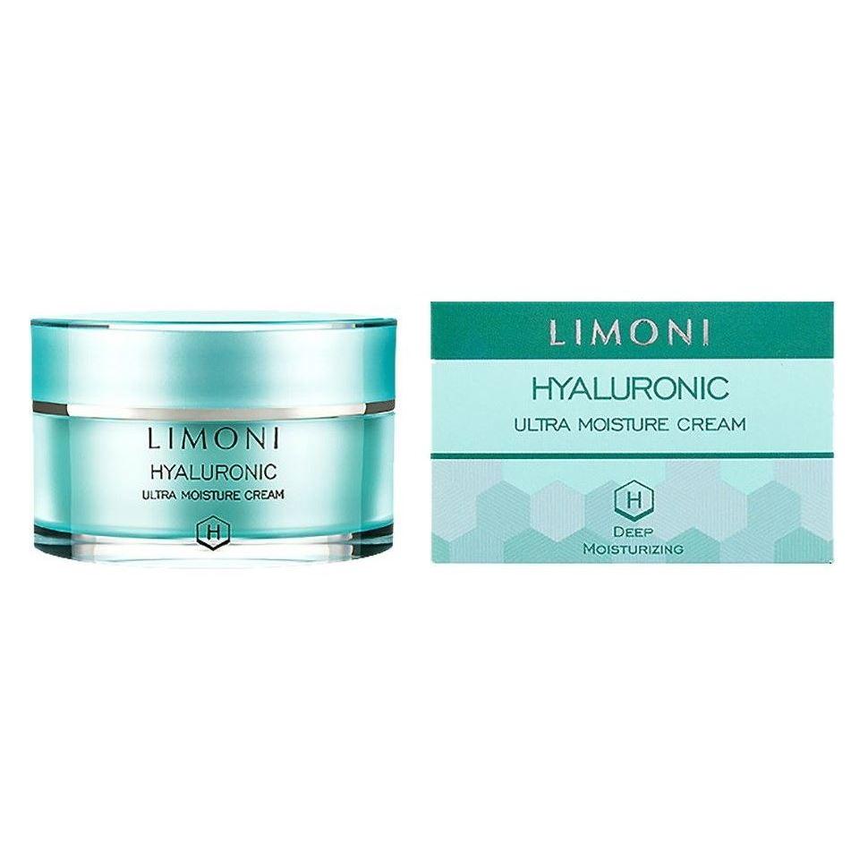Крем Limoni Hyaluronic Ultra Moisture Cream  50 мл уход limoni hyaluronic ultra moisture toner объем 50 мл