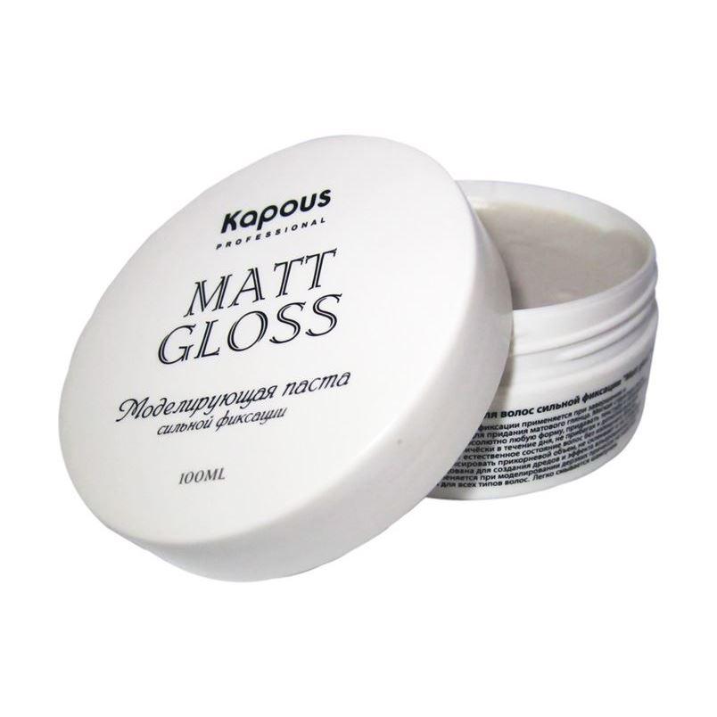Воск Kapous Professional Mat Gloss kapous professional мусс для укладки волос нормальной фиксации 400 мл