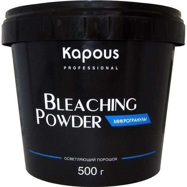 Краска для волос Kapous Professional Bleaching Powder (500 г) краска для волос kapous professional bleaching cream for hair with argan oil 150 г