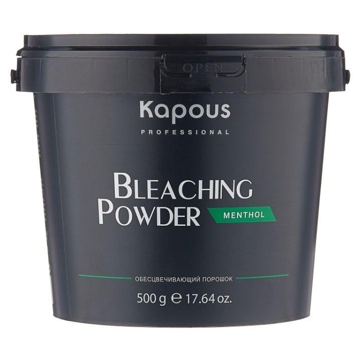 Краска для волос Kapous Professional Bleaching Powder Ментол (500 г) пудра hair company blonde bleaching powder 1000 г