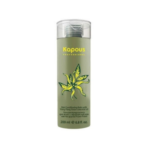 Бальзам Kapous Professional Hair Conditioning Balm with Ylang Ylang Flower Essential Oil краска для волос kapous professional bleaching cream for hair with argan oil 150 г