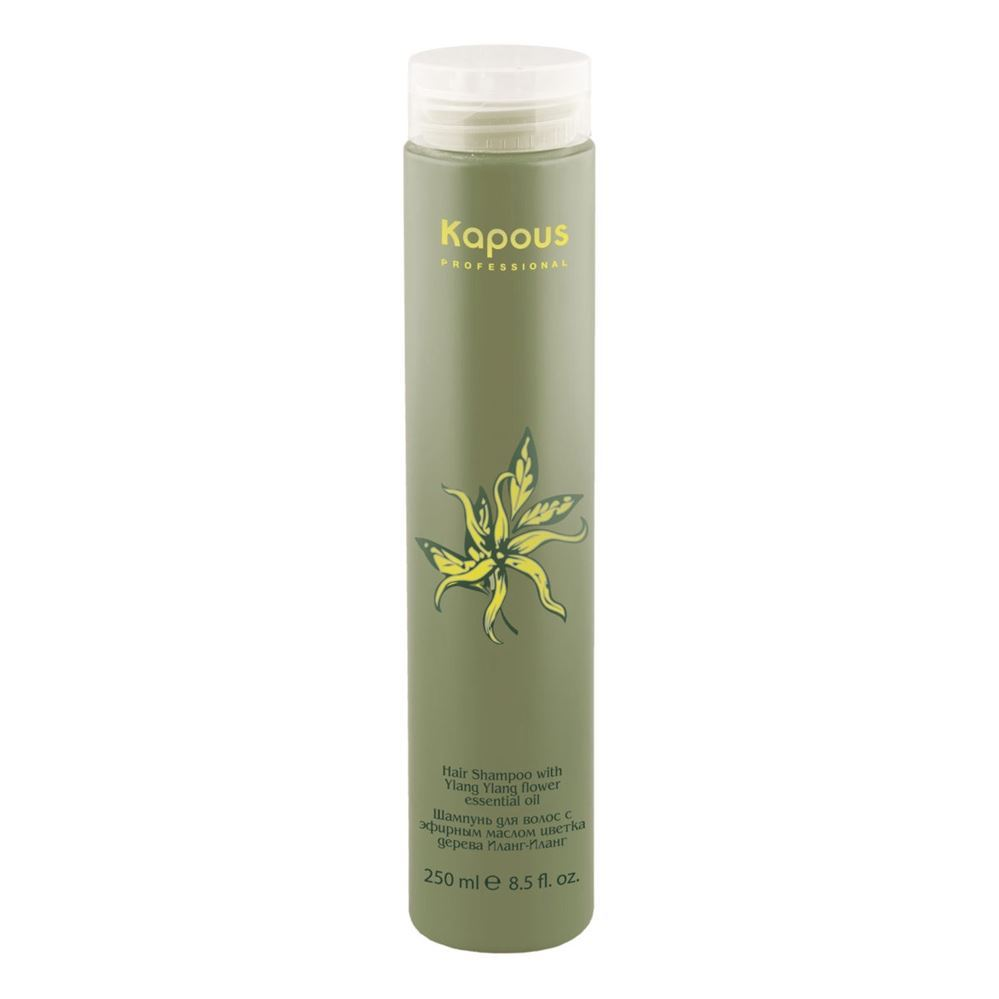 Kapous Professional Hair Shampoo with Ylang Ylang Flower Essential Oil periche professional lipos shampoo oily