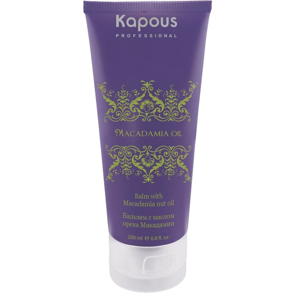 Бальзам Kapous Professional Balm with Macadamia Nut Oil high quality macadamia nut oil with best price