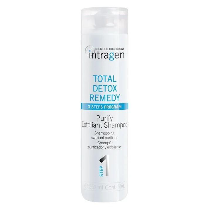Шампунь Intragen Intragen Total Detox Remedy Shampoo  250 мл шампунь redken oil detox shampoo 300 мл