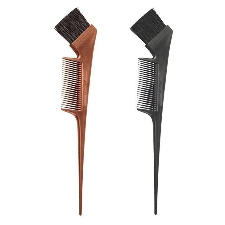 Кисть Kapous Professional Кисть с расческой для окрашивания волос (черная 1 шт)