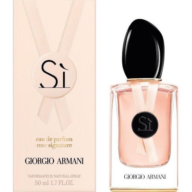 Парфюмированная вода Giorgio Armani Si Rose Signature  недорого